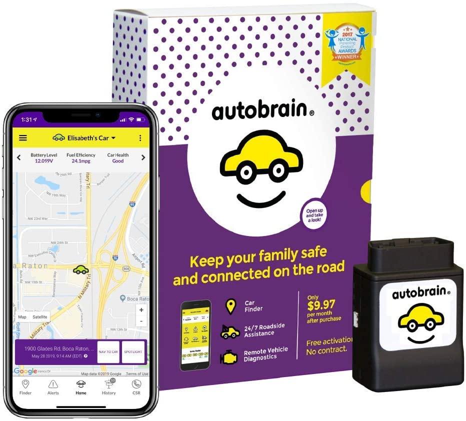 AutoBrain monitor and app