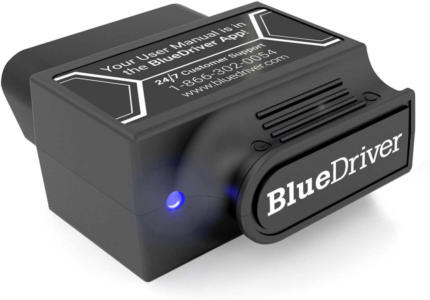 A BlueDriver Bluetooth monitor