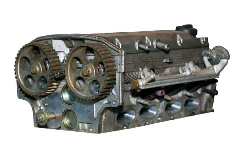 a car cylinder head