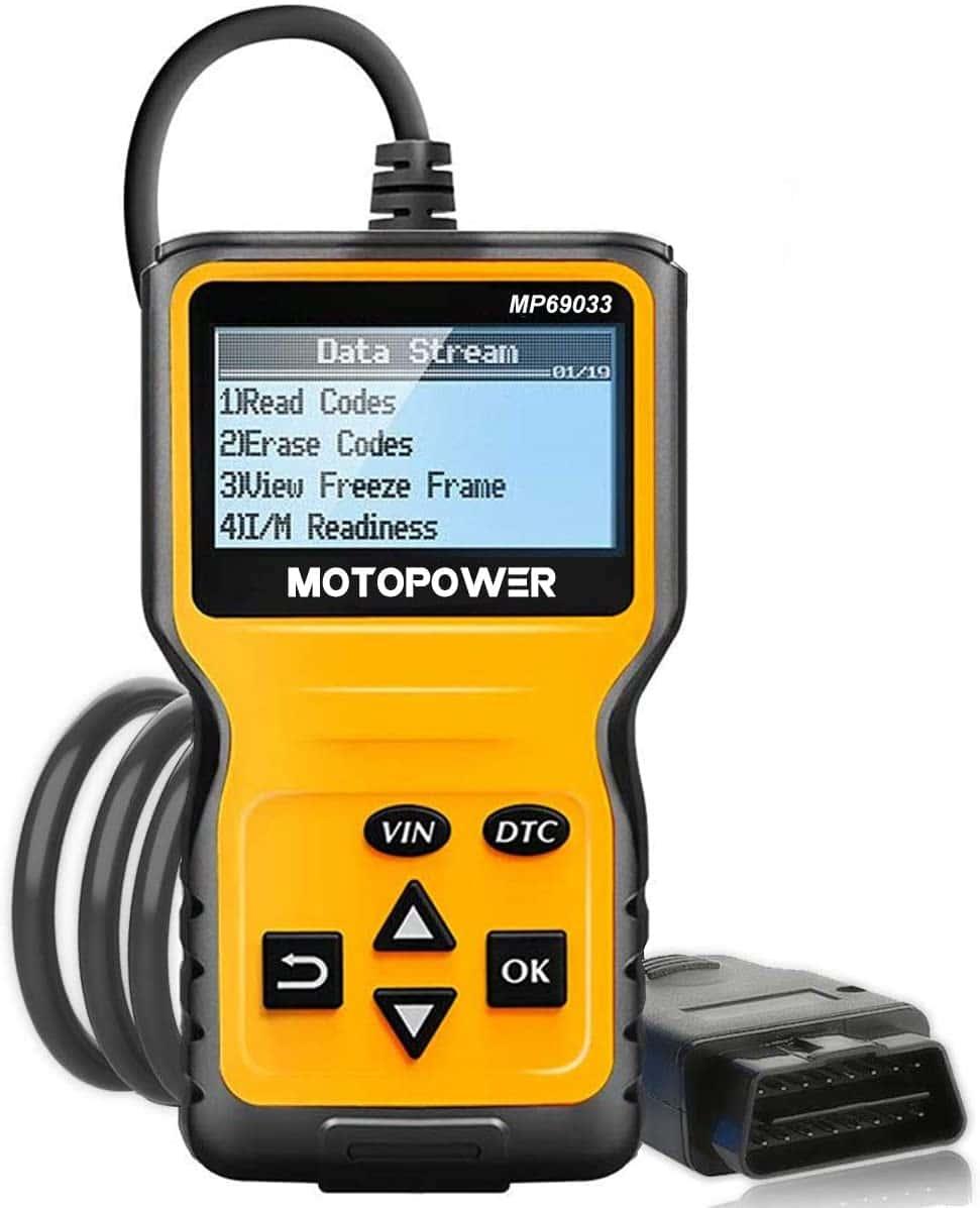MotoPower MP69033 CAN OBD2 Scanner