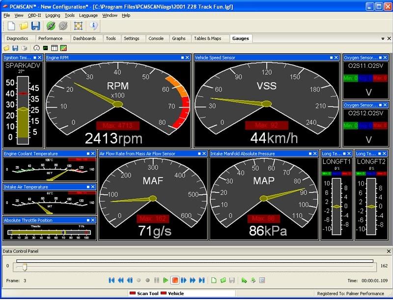 Palmer Performance PCMScan